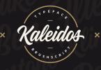 Kaleidos [1 Font] | The Fonts Master