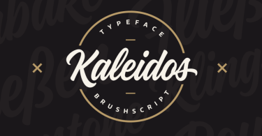 Kaleidos [1 Font] | The Fonts Master