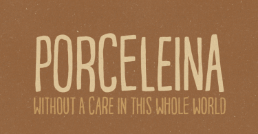 Porceleina [1 Font] | The Fonts Master