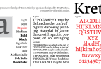 Krete [12 Fonts] | The Fonts Master