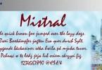 Mistral [1 Font] | The Fonts Master