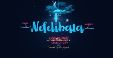 Nefelibata [9 Fonts] | The Fonts Master