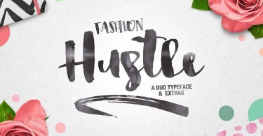 Fashion Hustle [3 Fonts + Extras] | The Fonts Master