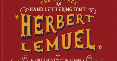 Herbert Lemuel [6 Fonts] | The Fonts Master