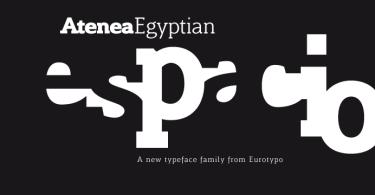 Atenea Egyptian [9 Fonts]   The Fonts Master