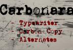 Carbonara [3 Fonts] | The Fonts Master