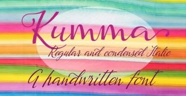 Kumma [2 Fonts] | The Fonts Master