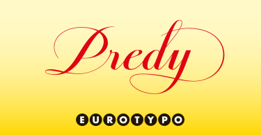 Predy [1 Font] | The Fonts Master