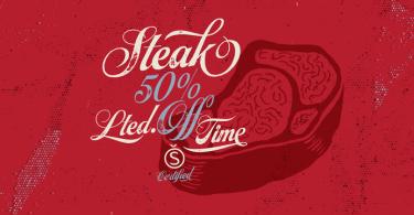 Steak [3 Fonts] | The Fonts Master