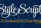 Style Script [9 Fonts] | The Fonts Master