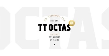 Tt Octas [10 Fonts] | The Fonts Master