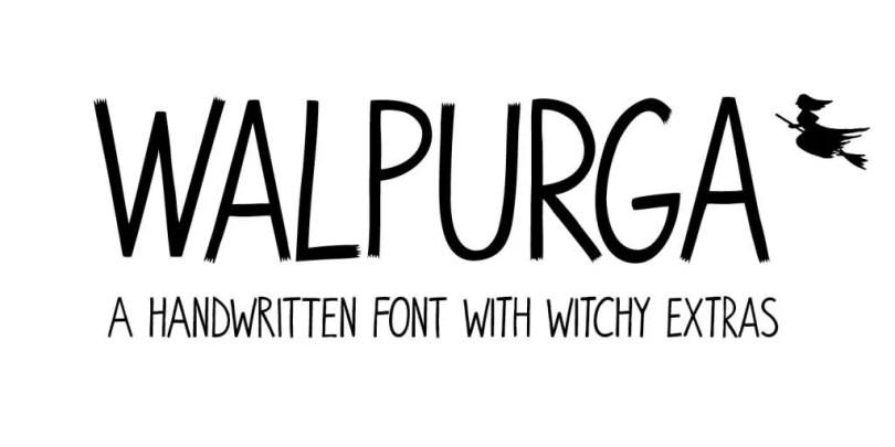 Walpurga [2 Fonts]