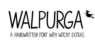 Walpurga [2 Fonts] | The Fonts Master