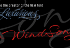 Windsong [12 Fonts] | The Fonts Master