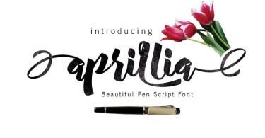 Aprillia Script [1 Font]