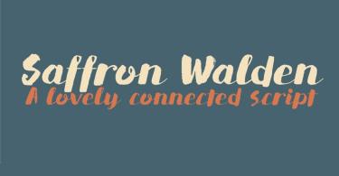 Dk Saffron Walden [1 Font]   The Fonts Master