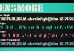 Densmore [3 Fonts] | The Fonts Master