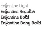 Enfantine [4 Fonts] | The Fonts Master