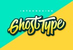 Ghost Type [3 Fonts] | The Fonts Master