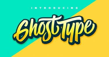 Ghost Type [3 Fonts]