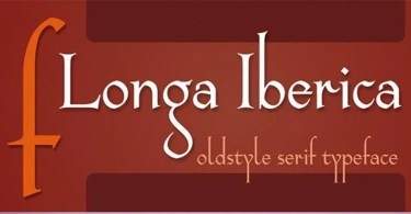 Longa Iberica [2 Fonts] | The Fonts Master