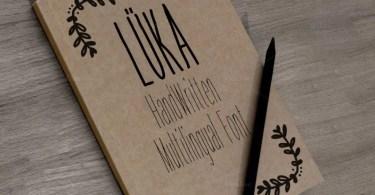 Luka [3 Fonts] | The Fonts Master