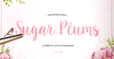 Sugar Plums [3 Fonts]   The Fonts Master