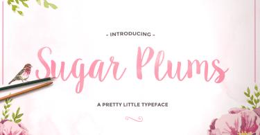 Sugar Plums [3 Fonts]