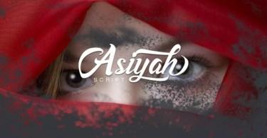 Asiyah Script [1 Font] | The Fonts Master
