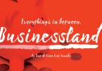 Businessland [1 Font] | The Fonts Master