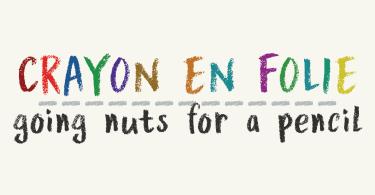 Crayon En Folie [1 Font]