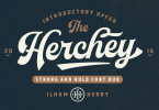 Herchey [2 Fonts] | The Fonts Master