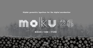 Moku26 [3 Fonts]