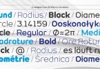 Geometrico [13 Fonts] | The Fonts Master