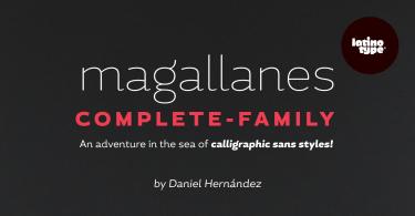 Magallanes Super Family [16 Fonts] | The Fonts Master