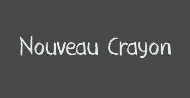 Nouveau Crayon [1 Font]   The Fonts Master