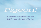 Pigeon [6 Fonts] | The Fonts Master