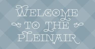 Pleinair [1 Font] | The Fonts Master