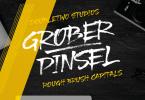 Xxii Grober Pinsel [1 Font] | The Fonts Master