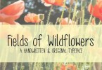 Mrf Fields Of Wildflowers [1 Font] | The Fonts Master