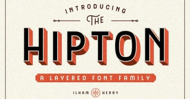 The Hipton [8 Fonts]