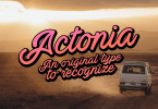 Actonia [2 Fonts] | The Fonts Master
