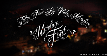 Mardian Pro [1 Font]   The Fonts Master