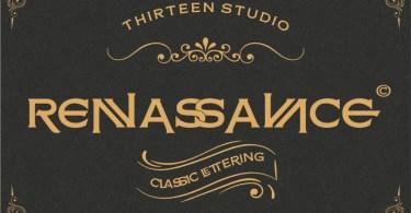 Renassance [1 Font] | The Fonts Master