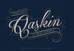 Qaskin [2 Fonts] | The Fonts Master