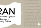 RAN [5 Fonts]