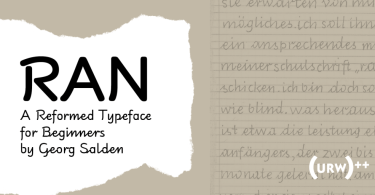 Ran [5 Fonts] | The Fonts Master