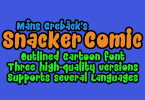 Snacker Comic [3 Fonts] | The Fonts Master