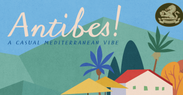 Antibes [1 Font] | The Fonts Master