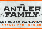 Antler Super Family [20 Fonts] | The Fonts Master